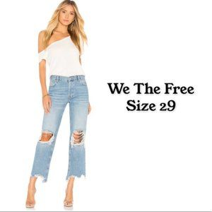 We the Free Maggie Crop Straight Leg jeans 29
